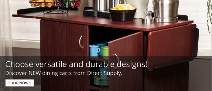 Direct Supply Dining Carts