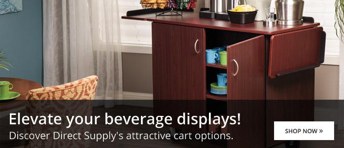 Direct Supply Beverage Carts