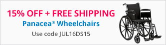 15% Off Panacea Wheelchairs
