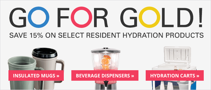 Save 15% on Select Resident Hydration Products