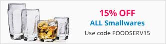 15% off Smallwares