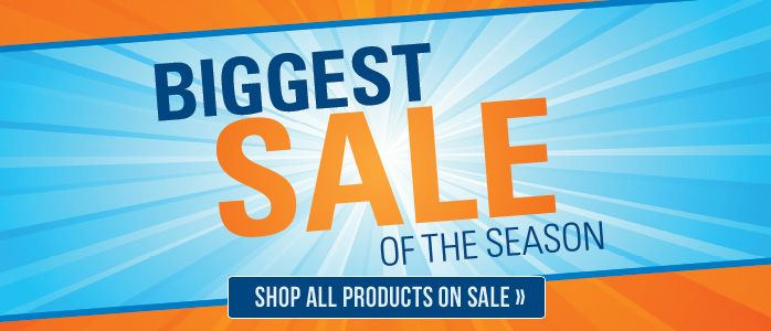 Biggest Sale of the Season - 20% off