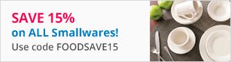 15% off All Smallwares