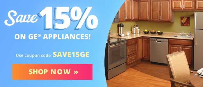 Save 15% on GE Appliances