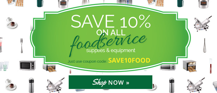 save 10 on foodservice