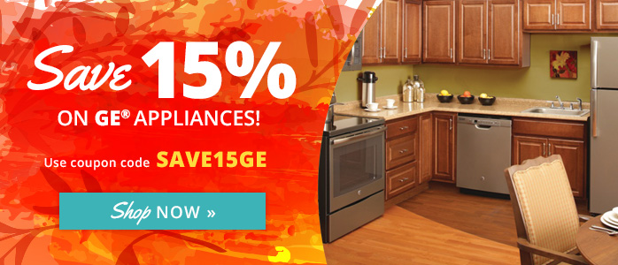 Save 15% on GE Appliances