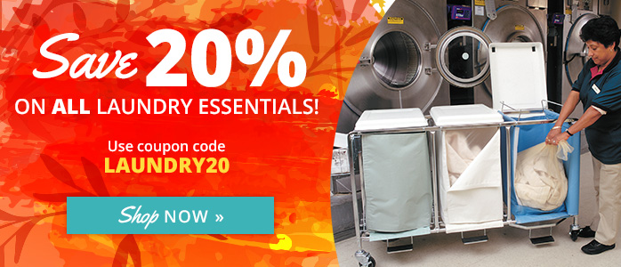 Save 20% on Laundry