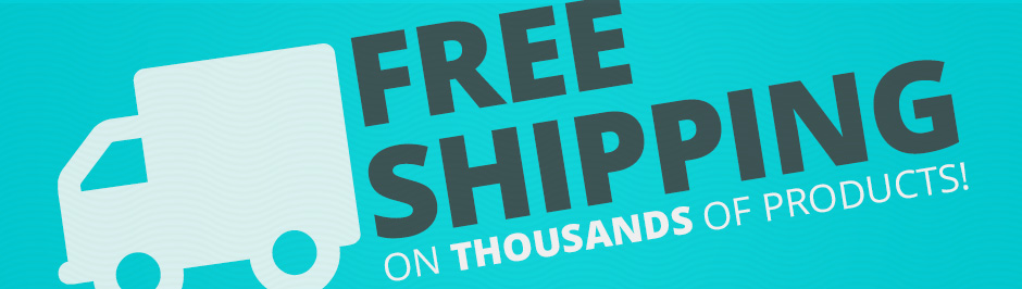 FREE SHIPPING on thousands of products!