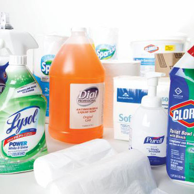 Free Shipping Janitorial Supplies