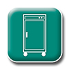 Food Transport Cart Icon
