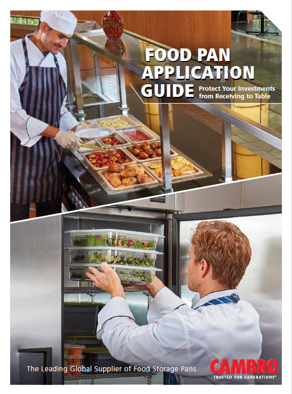 Cambro Food Pan Application Guide