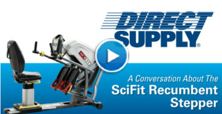 A Conversation About The SciFit Recumbent Stepper